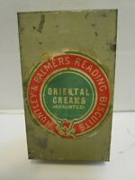 RARE HUNTLEY & PALMERS READING BISCUITS ORIENTAL CREAMS ASSORTED SAMPLE TIN