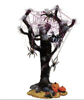 "RARE RETIRED Lemax ""SPIDER TREE"" Spooky Town Accessory NIB Halloween Village"