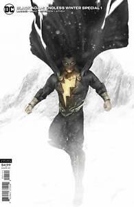 BLACK ADAM ENDLESS WINTER SPECIAL #1 (ONE SHOT) CVR B BOSSLOGIC CARD STOCK VAR