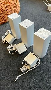 Linksys Velop Intelligent Mesh WiFi System, Tri-Band, 3-Pack White