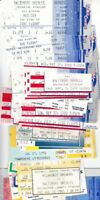 Cal Ripken Consecutive Games Iron Man 68 different 1987 1998 Orioles tickets lot