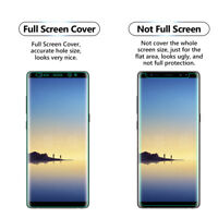 2x FULL Screen Face Curved TPU Screen Protector Cover For Samsung Galaxy Note 8