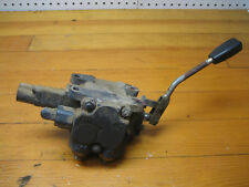 KUBOTA F2400 24HP DIESEL  HYDRAULIC ASSEMBLY VALVE CONNECTOR & LEVER 76611-36210