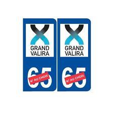 Ski Andorre grand valira autocollant plaque sticker département au choix arrondi