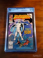 West Coast Avengers #45 9.6 NM+ WHT. 1st White Vision Top 4 CBCS Census. Not CGC