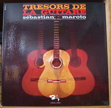 SEBASTIEN MAROTO TRESORS DE LA GUITARE GATEFOLD COVER FRENCH LP BARCLAY