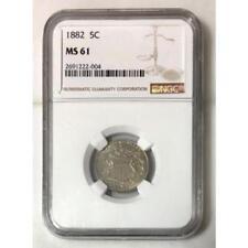 1882 Shield Nickel NGC MS61 ***Rev Tye's Coin Stache*** #2004191