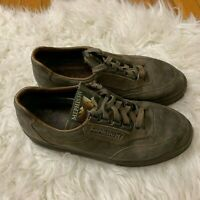 Women's Size 7 Mephisto Runoff Brown Lace Up Shoes