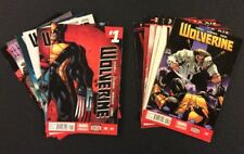 WOLVERINE #1 - 12 Comic Books FULL 5th SERIES Marvel Now! 2014 X-Men VF DEATH