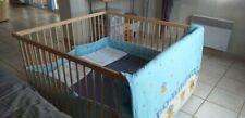 vend lit bebe jumeaux avec literie reglable en hauteur a prendre sur place