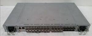 Brocade 5000 32-Port Fibre Channel Switch Model HD-5020-0001 - 32 x SFP Ports