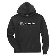 Subaru Logo Black Basic Pullover Forester Impreza WRX STI Hoodie NEW SWEATSHIRT