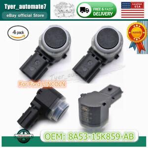 4PCS Parking PDC Sensor For Ford Focus Explorer 8A53-15K859-ABW 8A53-15K859-AB