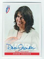 2006 Wnba Authentic Original Autograph Donna Orender Wnba President
