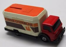 ancienne tirelire de la caisse d épargne camion matchbox made in england 1978