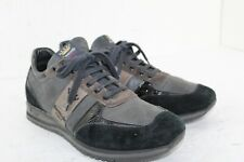 Barracuda Sport Special Edition '80 Gray Size 10 Made In Italy Leather Perfect