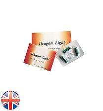 Dragon Light  Sex Pill Erection Enhancer 475 mg x 3 Powerful Capsules!