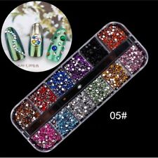 Nail decor art women'fashion pearl nail glitter nail stickers sequins tool WH3