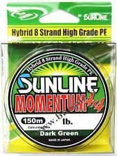 NEW Sunline Momentum 4x4 - 8 strand High Grade PE  Trecciato 8 Fili Hybrido 16lb