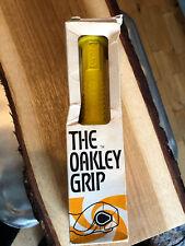 Oakley 1 OG Old School BMX Grips In Yellow The Original Oakley Grips BNIB SE