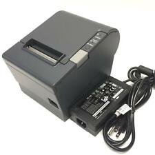 Epson Tm-T88Iv M129H Ethernet Interface Pos Receipt Printer & power Adapter