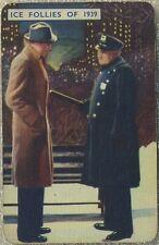 James Stewart on 1939 Film Fantasy Game Card ICE FOLLIES OF 1939