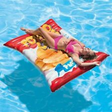 Intex Bouée piscine Gonflable Potato Chips Lit Matelas de Piscine