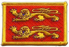 �‰cusson brodé drapeau France Basse-Normandie normand 5x8cm Thermocollant