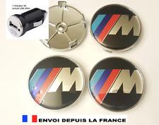 4 logo BMW M caches moyeu jante, centres de roue 68 mm emblème neuf