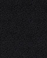 Fabric, Hoffman, Satin Metallic Silver Design on Black, by / yard