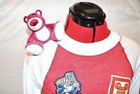 Lotso Bear Toy Story Magnetic Shoulder Plush Doll Kids Adult Accessory Custom