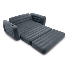 Sofa Bed Sleeper Futon Couch Convertible Modern Living Room Furniture Grey New