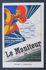 BUVARD LE MONITEUR journal Allier Creuse Corrèze Cantal Lozère Aveyron Clermont