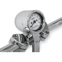 Bullet tachometer 3 white face w/ 1 clamp - Baron BA-7570-00