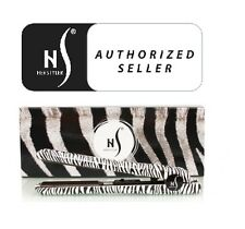 Herstyler Authentic NIB Classic Zebra Hair Straightener Black Ceramic Flat Iron