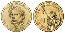 One dollar coin P Franklin Pierce Presidential - Brand new coin !