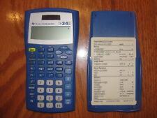 Texas Instruments Ti-34 Ii Solar Scientific Math Calculator Math School
