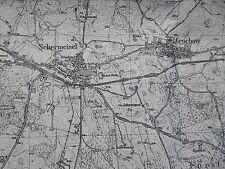 Landkarte Messtischblatt 3557 Schermeisel Neumark Ostbrandenburg, um 1945