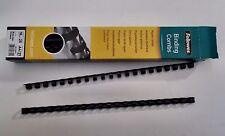 Lot anneaux plastique noir 10 mm