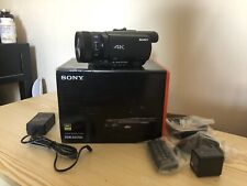 "SONY FDR-AX700 4K Ultra HD Camcorder - Black ""NEW"""