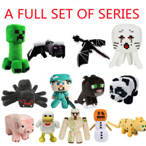 Minecraft Plush Toy Creeper Stuffed Animal Soft Plush Kids Birthday Gift UK New