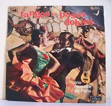 """33T TANGOS PASOS DOBLES Disque Vinyl LP 12"""" TRIO MUSETTE PARIS - VEGA 16.019"""