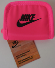 NIKE Unisex Small Coin Wallet Color Pink/Black New