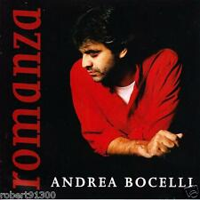 CD audio.../...ANDREA BOCELLI.../...ROMANZA......