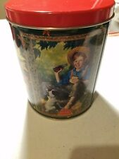 1998 COCA-COLA VINTAGE Collectable Coke Jigsaw 200 Piece Puzzle Round Tin Can