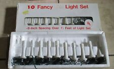 10 Light Old Fashioned Christmas Tree Candles Novelty Fancy Xmas Lot of 2 sets