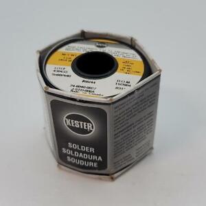 Kester #66/44 Thin Wire Solder .031 Rosin Core 66/44 1 Pound (1080400)