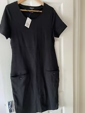 H&m Mama Maternity Black Dress With brand New With Tags Size L Fit 12 14 £19.99