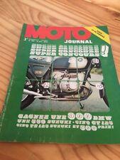 MOTO JOURNAL 1974 N° 150 Yamaha GT50 , Poster NEwcombe sur Koenig ...etc