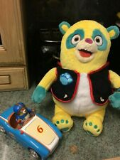 """Special Agent Oso Car with Sounds and large soft toy 14"""""""